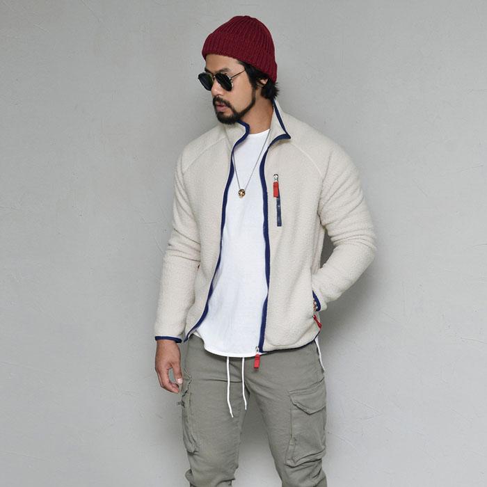 Cozy Shearling Fleece Zipup-Jacket 414