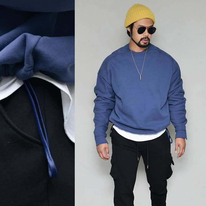 Extra Thick Fleece Waist Strap Crew-Tee 344