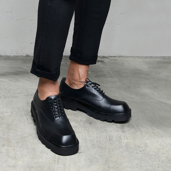 Sqaure Toe Classy Derby-Shoes 837