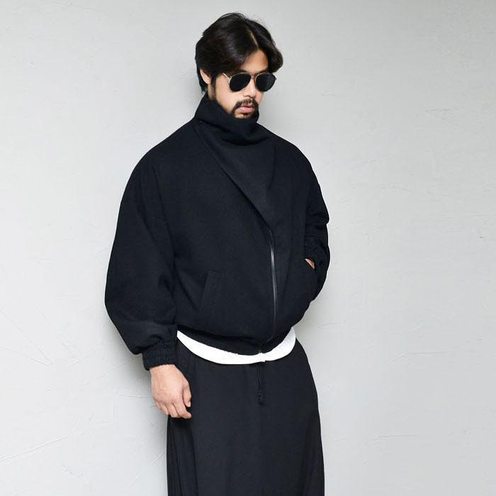 Avant-garde Wool Double Highneck Jacket 423
