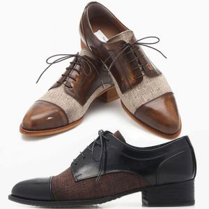 Brouge oxford shoes