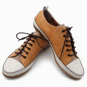 Hand-made Crinkle Lambskin Sneakers-Shoes 07