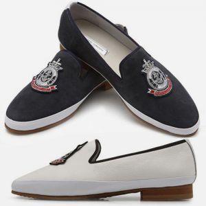 men's slip-on leather loafer