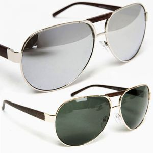 men's vintage aviator sunglass