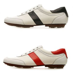 Hand-made Stripe Kipskin Sneakers-Shoes 62