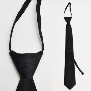 Pre-knotted Clip-on Slim Tie-Tie 17