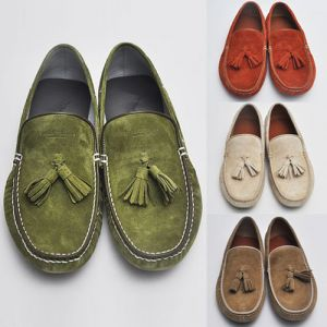 Hand-made Classic Suede Boat-Shoes 82
