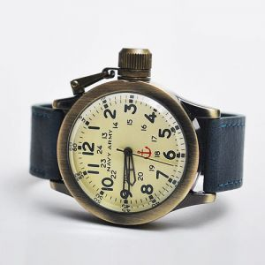 Vintage Brass Diver Frame Watch-Watch 32