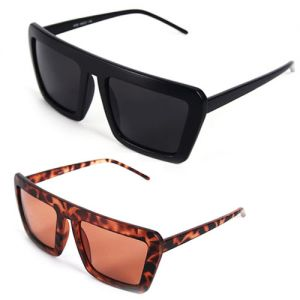 Strong Bold Cyber Retro Frame-Sunglasses 25