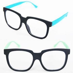 Vibrant Contrast Wood Frame-Glasses 09