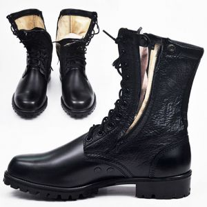 Military Zippered Rescue Boots-Shoes 136