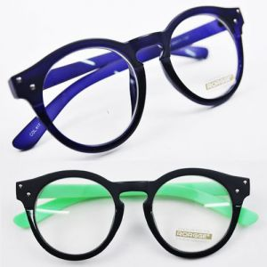 Parisian-chic Rounded Two-tone-Glasses 13