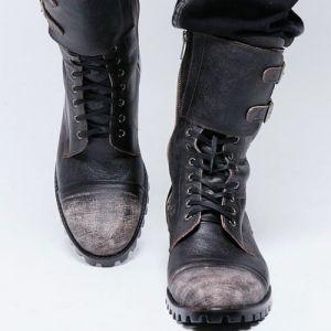 men's vintage biker boots