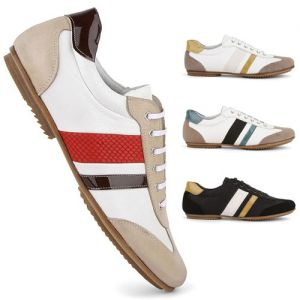 Hand-made Kipskin Sneakers-Shoes 75