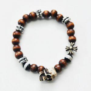 Skull Charm Multi Gradation Beads-Bracelet 87