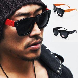 Stud Deco Wayfarer Color Acetate-Sunglasses 45