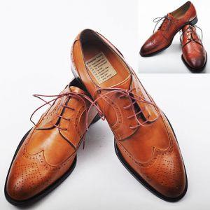 Premium Quality Wingtip Dress Shoes-Shoes 50