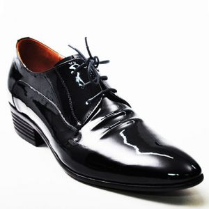 Height Increasing Crinkle Dress-Shoes 156