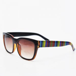 Fashionable Brown Rainbow Arms-Sunglasses 40