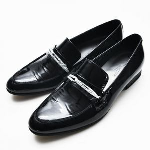 Silver Rope Polished Dandy Loafer-Shoes 163