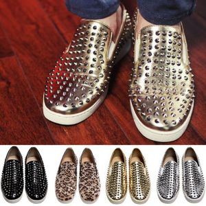 Street Rebel Slip On Stud Loafer-Shoes 168