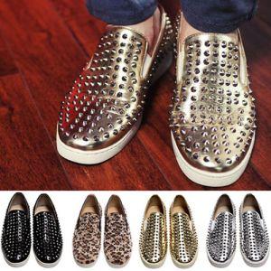 Street Rebel Slip On Stud Loafer-Shoes 168