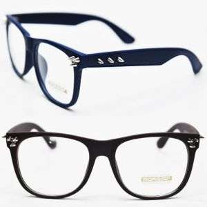 Funky Pointy Metal Stud Accent Color-Glasses 18