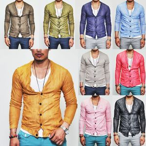 Must-have 11color Slim Summer Wrinkle-Cardigan 41