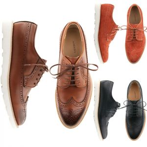 Light-weight Smart-Casual Wingtip-Shoes 224