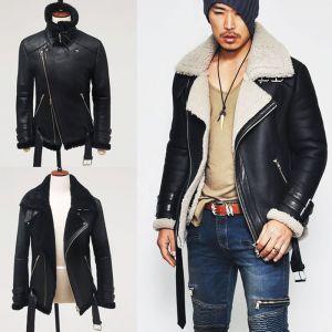 Premium 100% Lambskin Shearling AK Rider-Leather 57