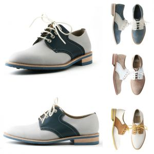 Trendy Retro Dandism Saddle-Shoes 243
