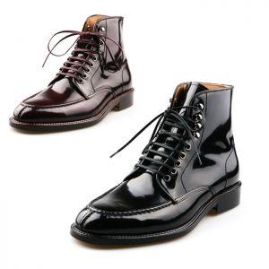 Masculine Design Polished Custom Ankle-Shoes 251
