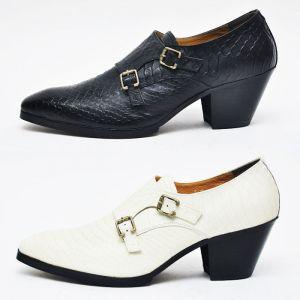 Anaconda 7cm Kill Heel Double Monk-Shoes 261