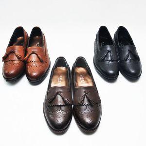 Timeless Custom Tassle Wingtip Loafer-Shoes 262
