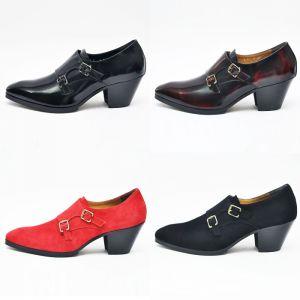 Custom 7cm Kill Heel Double Monk-Shoes 261