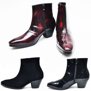 Custom 7cm Kill Heel Ankle Boots-Shoes 266