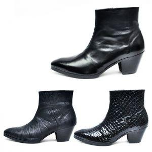 Custom 7cm Kill Heel Pattern Ankle Boots-Shoes 267