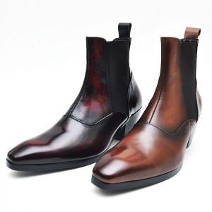 Gentlemen's Timeless Chelsea Boots-Shoes 280