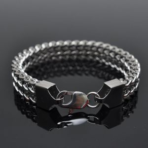 Minimal Lux Stainless Steel Chain-Bracelet 142