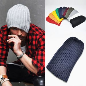 Uber-cool Big Chunky Knit Cotton Beanie-Hat 35
