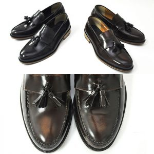 Classic Tassel Brogue Penny Loafer-Shoes 304
