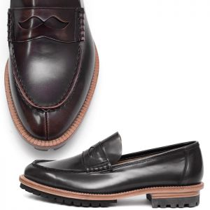 Premium Kipskin Custom Brouge Loafer-Shoes 328