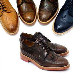 Timeless Gradation Custom Wingtip Brogue-Shoes 329