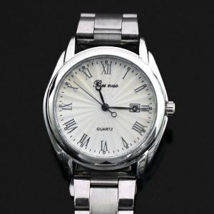 Sleek Urban Roman Number Metal-Watch 57