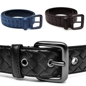 Top Quality Designer Leather Braided-Belt 110