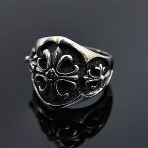 Stainless Steel Engraved Armor-Ring 41
