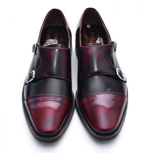 Gradation Wine Double Monk-Shoes 365