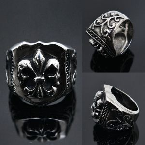Stainless Steel Oversize Spear Steel Ring-Ring 39