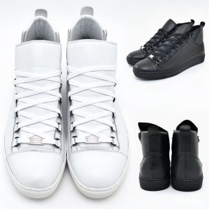 Metal Accent Cow Skin Mid Top-Shoes 385