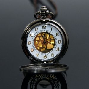 Romantic Long Locket Watch-Necklace 183